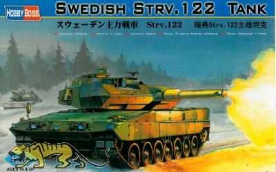 Strv. 122 - Schwedischer Hauptkampfpanzer - 1:35