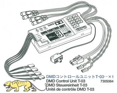 DMD Kontroll Einheit T-03 (56010, 56018, 56022, 56024 und 56026)