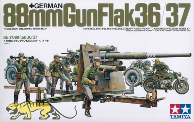 German 88mm Gun Flak 36/37 - 1/35