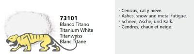 Vallejo Pigments 73101 Titanweiss (Titanium White), Pigment