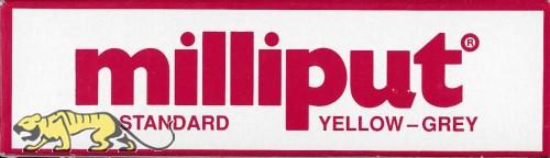 Milliput - Standard - Grey Yellow - Epoxy Putty