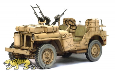 SAS 4x4 Desert Raider - 1:6