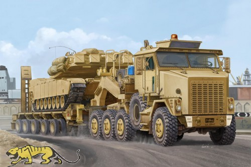 U.S. Army M1070 Truck Tractor & M1000 HET Semi-trailer - 1/35