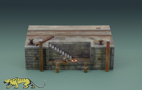 Dock with Stairs - 30cm - 1/35