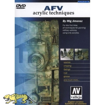 AFV - Acrylic Techniques - Vallejo - DVD