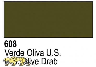 Primer US Olive Drab Acrylic Polyurethan - 17ml