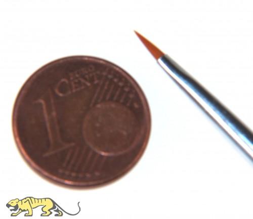 Synthetik-Pinsel, flach, Größe 000