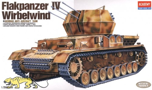 Flakpanzer IV Wirbelwind - 1/35