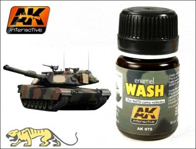 AK-075 Wash for Nato Tanks / Wash für Nato Fahrzeuge