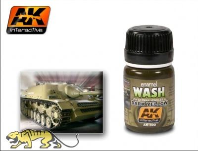 AK-300 Wash for Dark Yellow / Wash für Dunkelgelb