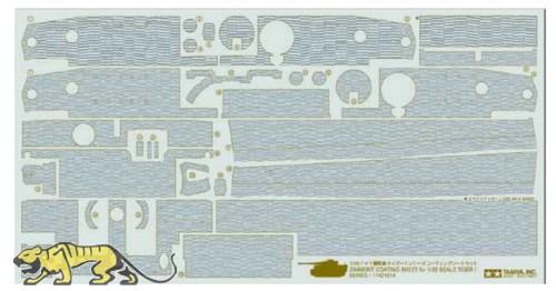 Zimmerit Coating Sheet for Tamiya Tiger I mid / late (35194 / 35146)