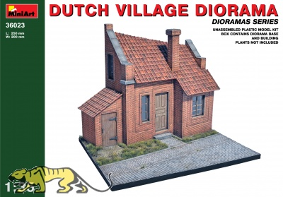 Dutch Village Diorama - 1/35