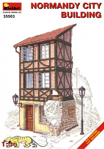 Normandy City Building - 1/35
