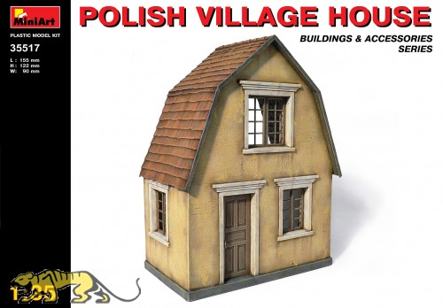 Polish Village House - 1/35