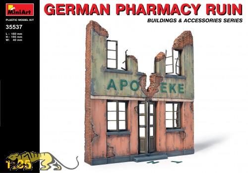 German Pharmacy Ruin - 1/35