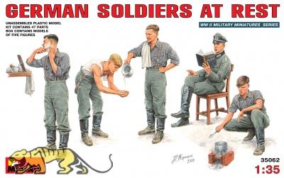 Deutsche Soldaten bei der Pause - 1:35