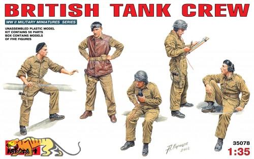 Britische Panzerbesatzung - 1:35