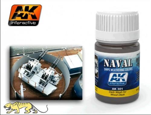 AK-301 Dark Wash for Wooden Deck