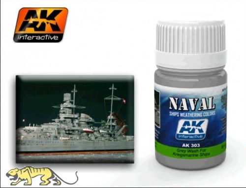 AK-303 Grey Wash for DKM ships / Graues Wash für Kriegsmarine
