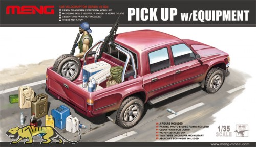 Pick Up with Equipment - 1/35
