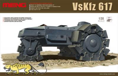 Alkett Vs Kfz. 617 - Minenräumer - 1:35