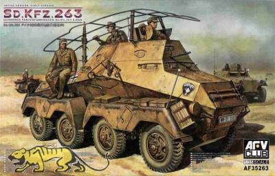 Schwerer Panzerfunkwagen 8 Rad Sd.Kfz. 263 - Frühe Produktion - 1:35