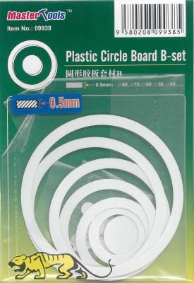 Plastik Kreise und Ringe - Set B