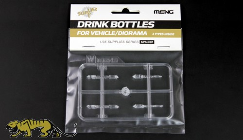 Trinkflaschen Set für Fahrzeuge / Dioramen - 1:35