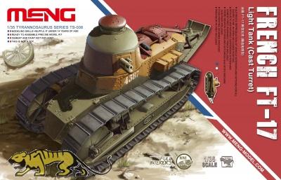 Französischer leichter Panzer Renault FT-17 - Cast turret - 1:35