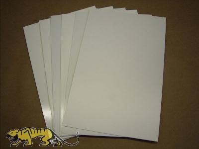 Polystyrolplatten 1,0 mm Weiss