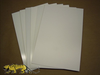 Polystyrene Plates 1,5mm , white.