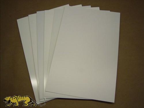 Polystyrene Plates 4,0mm, white.