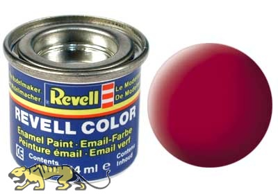 Revell 36 Carmine Red RAL 3002 - Flat