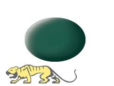 Revell Aqua Color 48 Seegrün RAL 6028 - Matt