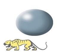 Revell Aqua Color 374 Grau RAL 7001 - Seidenmatt