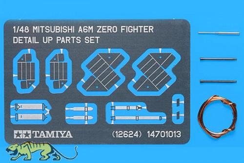 Mitsubishi A6M Zero Detail Set / Detail Up Parts Set - 1:48