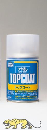 Mr. Topcoat - Flat - Spray