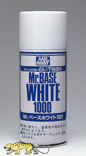 Mr. Base White 1000 - Spray