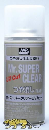 Mr. Super Clear UV Cut - Flat - Spray