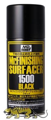 Mr. Finishing Surfacer 1500 Black - Spray