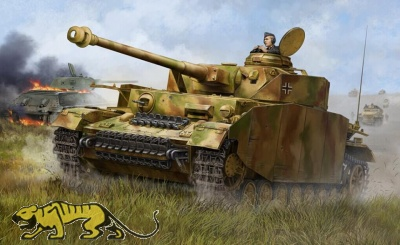 German Panzerkampfwagen IV Ausf. H - Medium Tank - 1/16