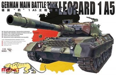 Leopard 1A5 - Bundeswehr Hauptkampfpanzer  - 1:35
