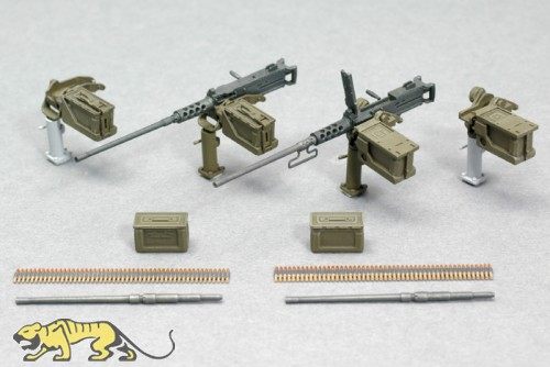 Browning M2 Machine Gun Set with Cradle - 1/35