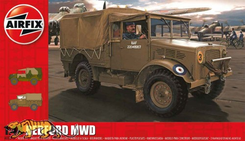 Bedford MWD Light Truck - 1:48