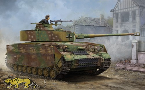 German Panzerkampfwagen IV Ausf. J - Medium Tank - 1/16