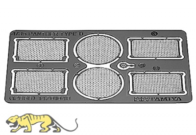 German Panther Ausf. D Photo Etched Engine Grills - 1/35