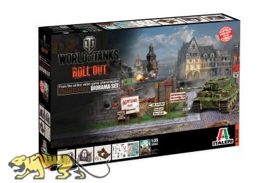 World of Tanks - HIMMELSDORF Diorama Set - 1:35