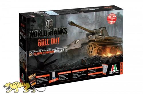 World of Tanks - PZ.KPFW. V PANTHER - 1:35