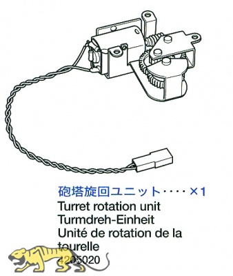 Turret Rotation Unit