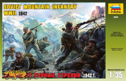 Soviet Mountain Infantry WWII - 1942 - 1:35